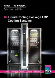 Liquid Cooling Package LCP Cooling Systems 2013