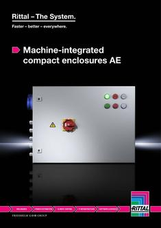 Machine-integrated compact enclosures AE 2015
