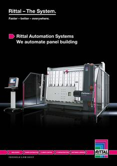 Rittal Automation Systems - We automate panel building 2015