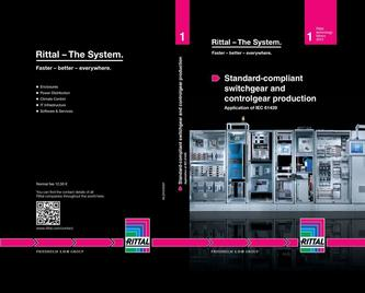 Standard-compliant switchgear and controlgear production 2013