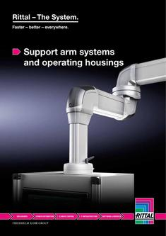 Support arm systems and operating housings 2013
