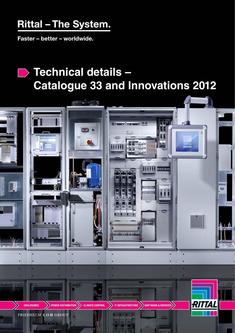 Technical details – Catalogue 33 and Innovations 2012