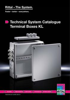 Technical System Catalogue - Terminal Boxes KL 2014