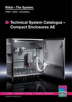 Technical System Catalogue – Compact Enclosures AE 2014