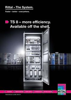 TS 8 – more efficiency. Available off the shelf 2015