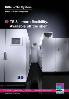 TS 8 – more flexibility. Available off the shelf 2015