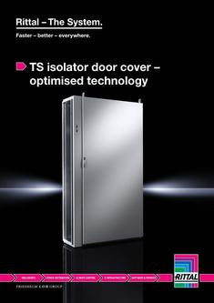 TS isolator door cover – optimised technology 2014
