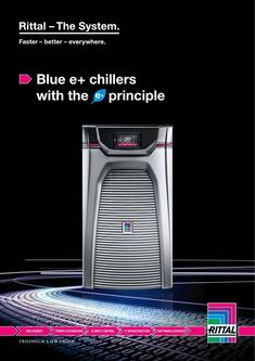 Blue e+ chillers with the e+ principle 2017