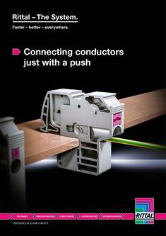 Connecting conductors just with a push 2017