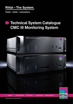 Technical System Catalogue CMC III Monitoring System 2017