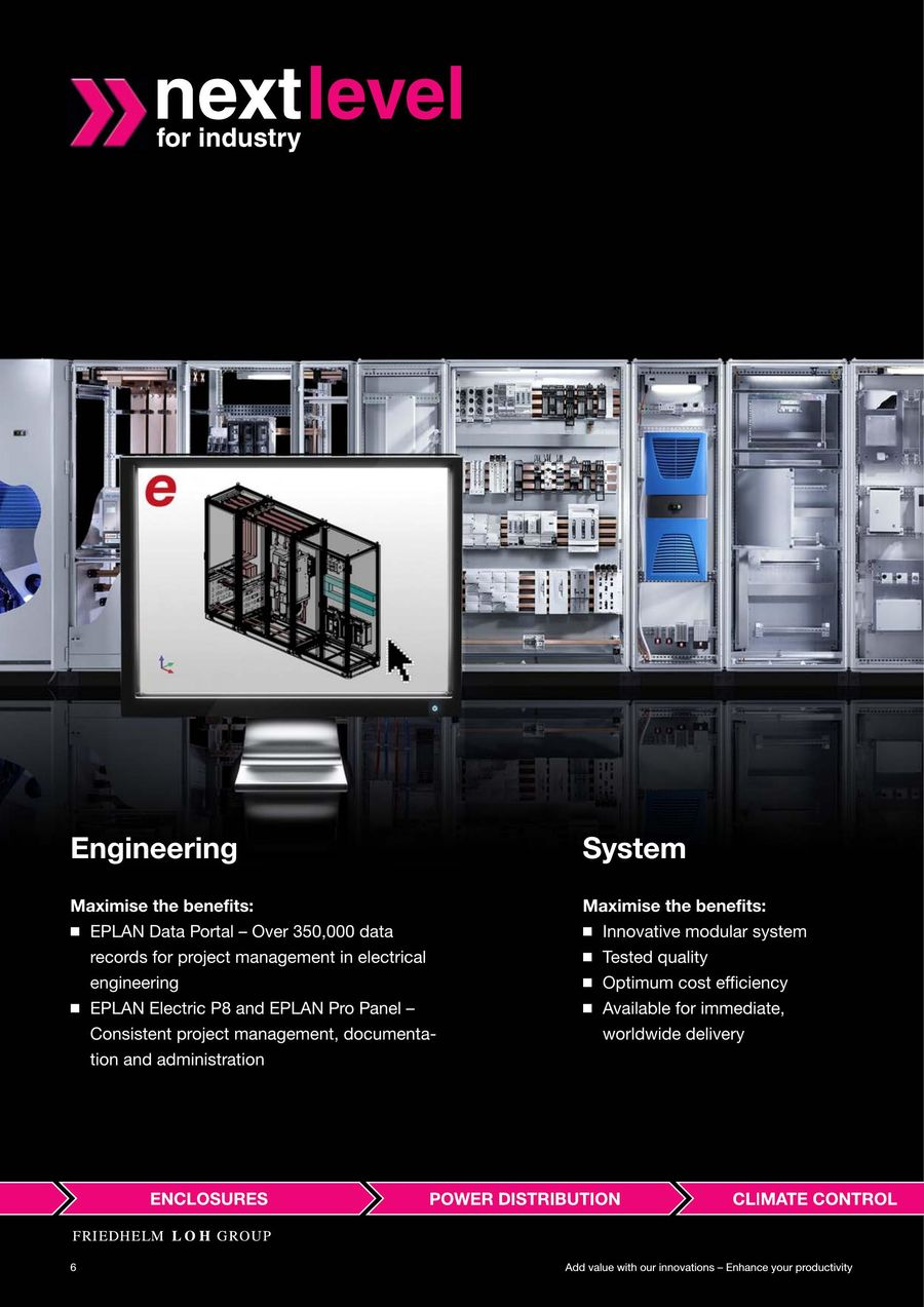 Add Value With Our Innovations Enhance Your Productivity By Rittal E Plan Electrical Engineers P 1 84