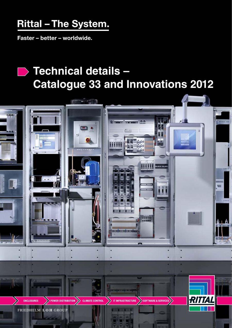 rittal catalogue 33