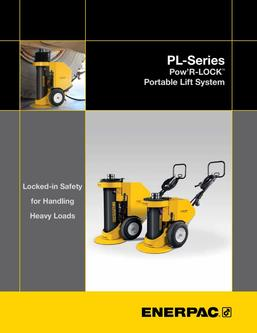 PL-Series, Pow R-LOCK Self-Locking Portable Lift System
