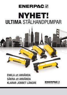 P-Series, ULTIMA Steel Hand Pump 2011 (Swedish)