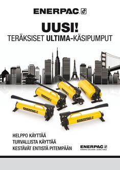P-Series, ULTIMA Steel Hand Pump 2011 (Finnish)