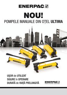 P-Series, ULTIMA Steel Hand Pump 2011 (Romanian)
