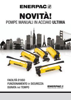 P-Series, ULTIMA Steel Hand Pump 2011 (Italian)
