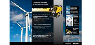 TQ-700E, Torque Wrench Pump Wind Industry 2012 (French)