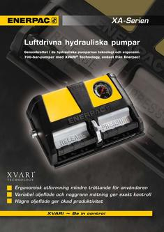 XA-Series, Air Driven Foot Pump 2012 (Swedish)