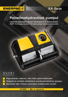 XA-Series, Air Driven Foot Pump 2012 (Finnish)