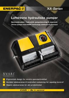 XA-Series, Air Driven Foot Pump 2012 (Norwegian)