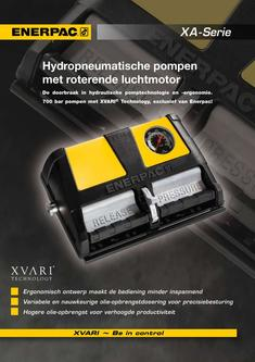 XA-Series, Air Driven Foot Pump 2012 (Dutch)