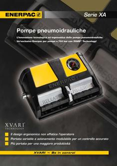 XA-Series, Air Driven Foot Pump 2012 (Italian)