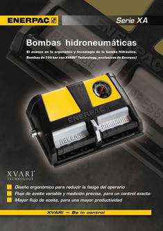 XA-Series, Air Driven Foot Pump 2012 (Spanish)