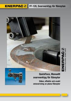 FF-Series, Mechanical Flange Face Tool 2012 (Swedish)