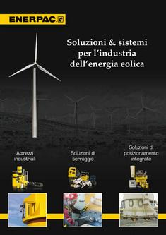 Solutions & Systems for Wind Power Industry 2012 (Italian)