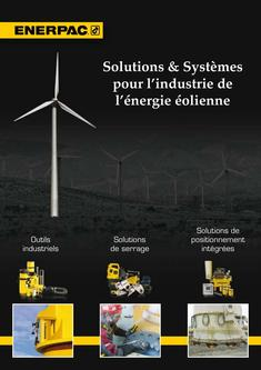 Solutions & Systems for Wind Power Industry 2012 (French)