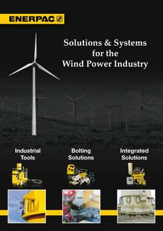 Solutions & Systems for Wind Power Industry 2012