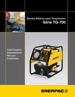 TQ-700, Lightweight Electric Torque Wrench Pump 2013 (Portuguese)