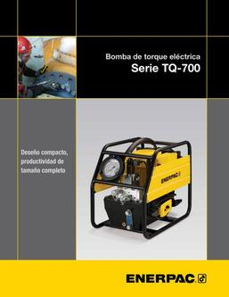 TQ-700, Lightweight Electric Torque Wrench Pump 2013 (Spanish)