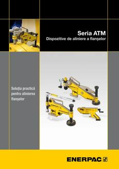 ATM-Series, Flange Alignment Tools 2013 (Romanian)
