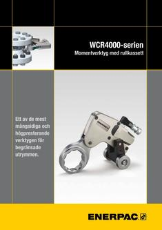 WCR-Series, Roller Cassette Torque Wrench 2013 (Swedish)