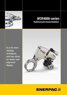 WCR-Series, Roller Cassette Torque Wrench 2013 (Norwegian)