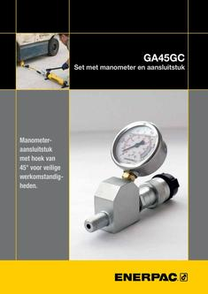 GA45GC Gauge Adaptor Assembly 2014 (Dutch)