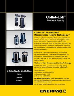Collet-Lok® Product Family 2014