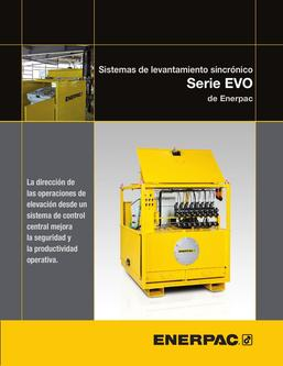 EVO-Series, Synchronous Lifting System 2014 (Spanish)