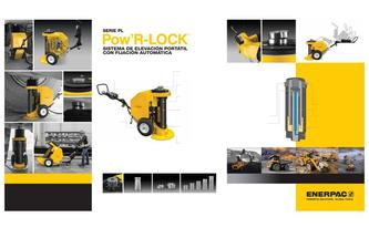 PowR-LOCK Self-Locking Portable Lift System (Commercial) 2014 (Spanish)