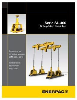 SL-400 Hydraulic Gantry 2014 (Spanish)