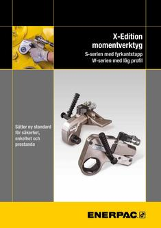 S- & W-Series X-Edition, Hydraulic Torque Wrenches (Technical) 2015 (Swedish)
