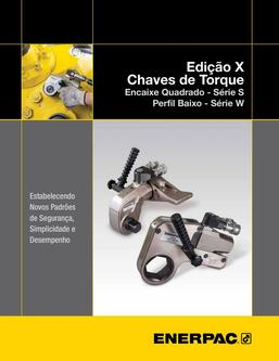 S- & W-Series X-Edition, Hydraulic Torque Wrenches (Technical) 2015 (Brazilian)
