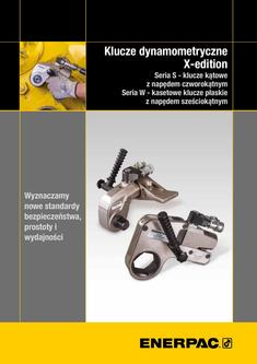 S- & W-Series X-Edition, Hydraulic Torque Wrenches (Technical) 2015 (Polish)