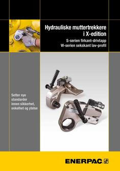 S- & W-Series X-Edition, Hydraulic Torque Wrenches (Technical) 2015 (Norwegian)