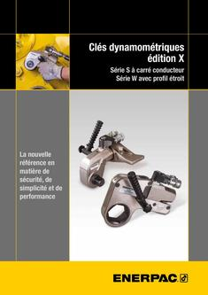 S- & W-Series X-Edition, Hydraulic Torque Wrenches (Technical) 2015 (French)