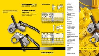 S- & W-Series, X-Edition Hydraulic Torque Wrenches (Commercial) 2015 (Czech)