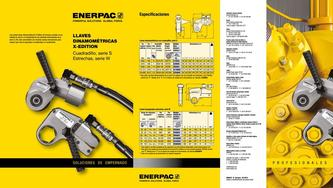 S- & W-Series, X-Edition Hydraulic Torque Wrenches (Commercial) 2015 (Spanish)