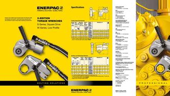 S- & W-Series, X-Edition Hydraulic Torque Wrenches (Commercial) 2015 (GB)